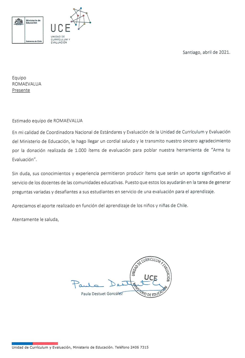 Carta-RomaEvalua.